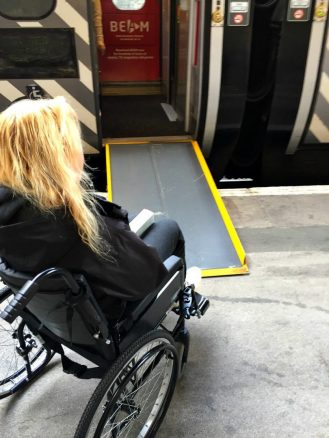 Accessing Virgin train in a Wheelchair