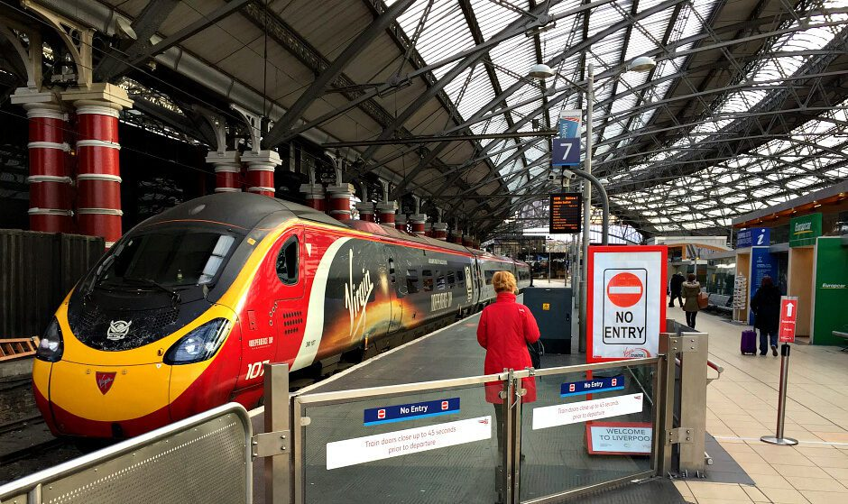 Virgin Trains at Lime Street