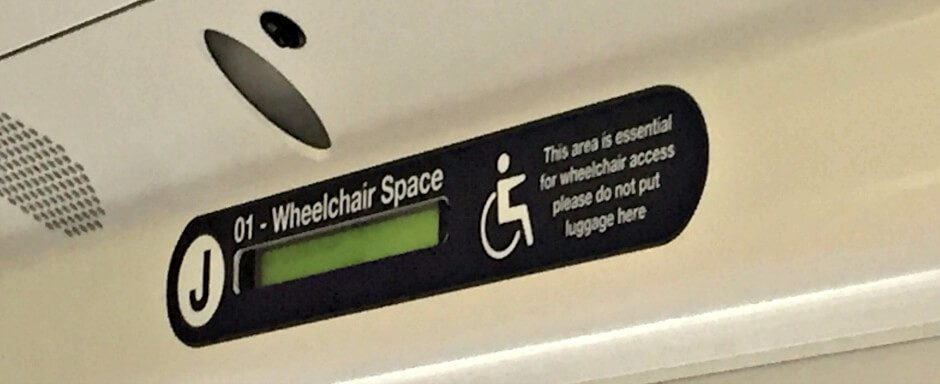Dedicated Wheelchair Space on Virgin Trains