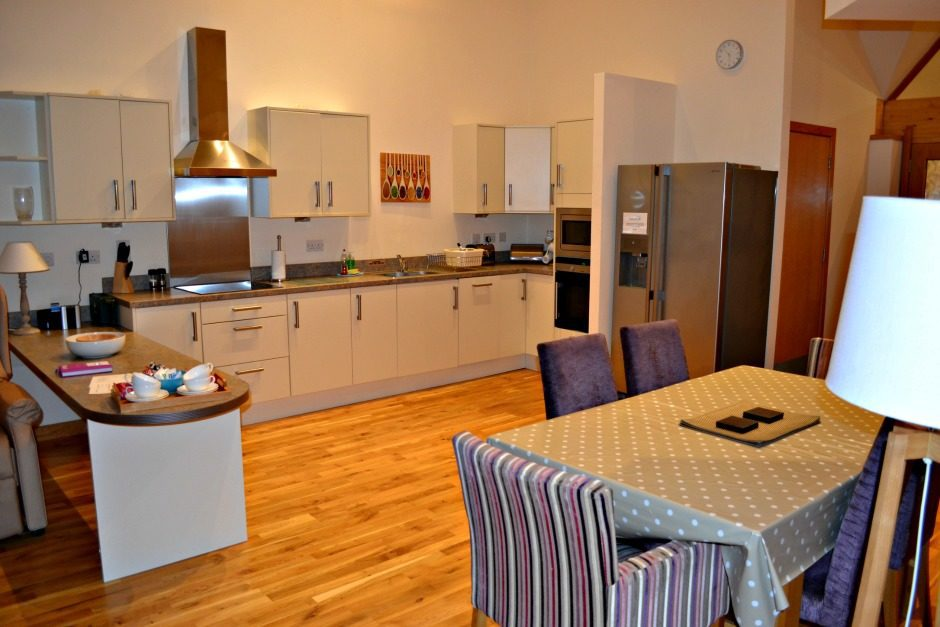 Kitchen in Cardy Lodge in Homelands
