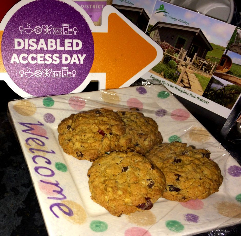 Disabled Access Day Biscuits