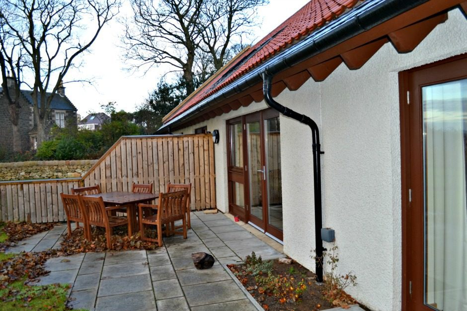 Patio Area in Cardy Lodge