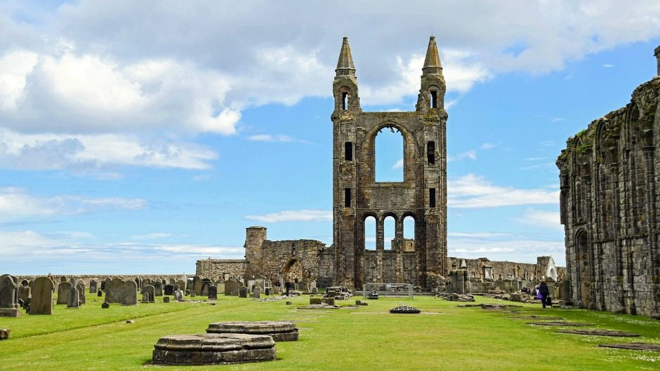St Andrews in Fife, Scotland