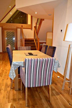 Dining Table in Cardy Lodge