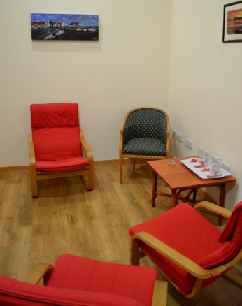 Relaxation Room in the Paxton Centre