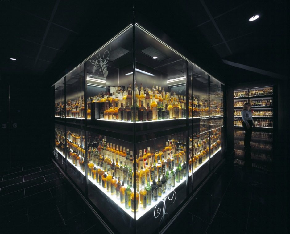 Over 3500 Whiskies in the Collection