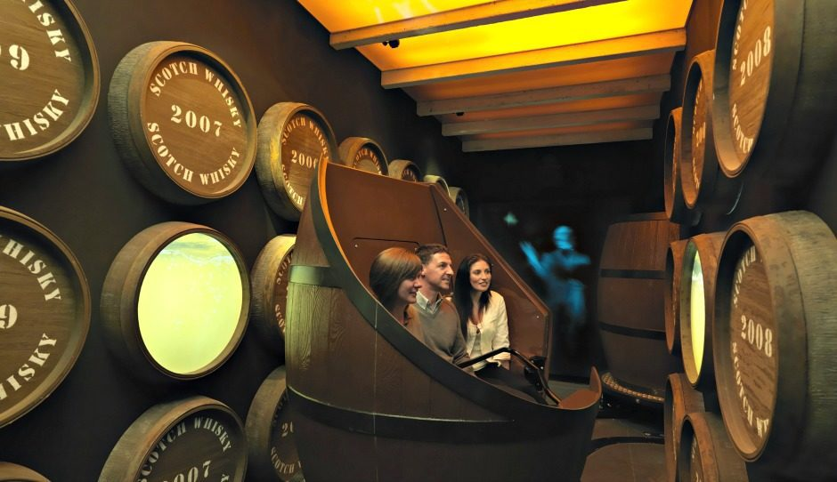 Barrel Ride on Scotch Whisky Tour