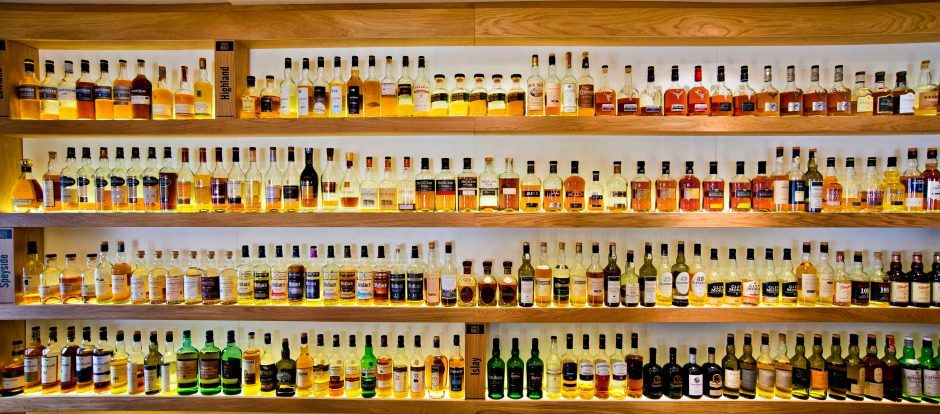 Over 400 Whiskies to Choose From