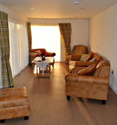 Large Living Area in Holiday Cottage