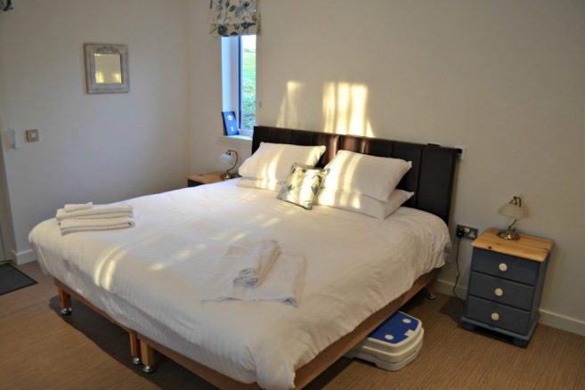 Luxury Bed Linen in a Holiday Cottage