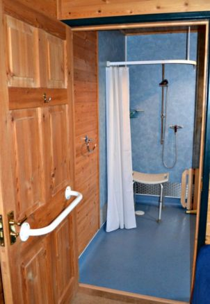 Accessible En-Suite Wet Room