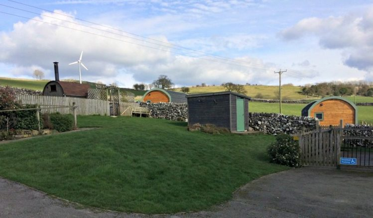 Glamping Pods at Hoe Grange Holidays