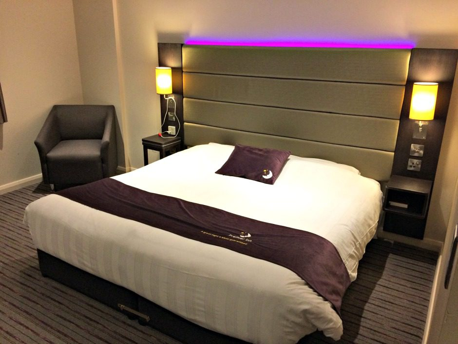 Double Hypnos Bed in Hotel Room