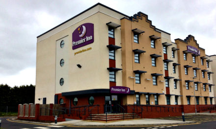 The New Premier Inn Hotel in Cleethorpes