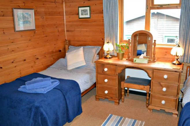 Two Bedroom Log Cabin in Derbyshire