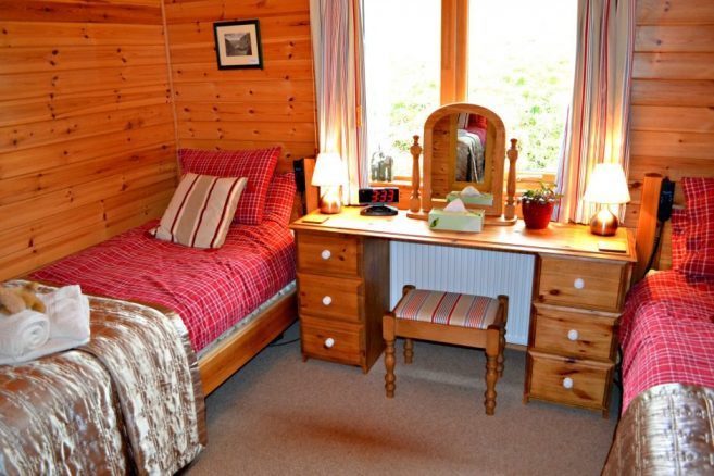Disabled Friendly Bedroom in Holiday Home