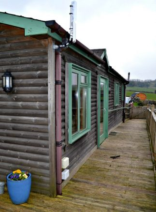 Wheelchair Access to Hipley Log Cabin