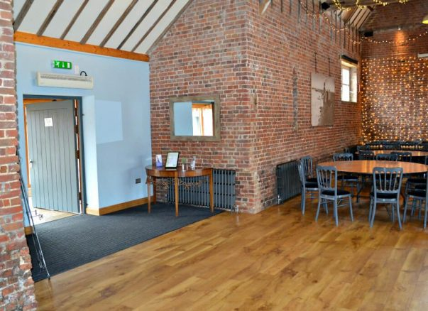 An Accessible Function Room in Lincolnshire