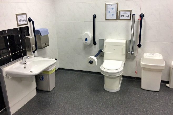 Disabled Toilet at EventCity Manchester