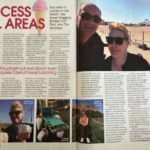 Talking About Accessible Beaches in My Weekly Magazine
