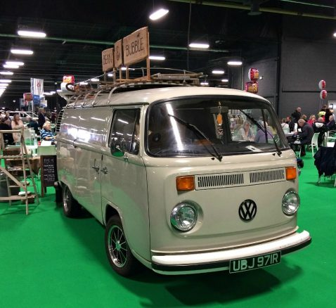 Lunch in a Campervan at Motability Show