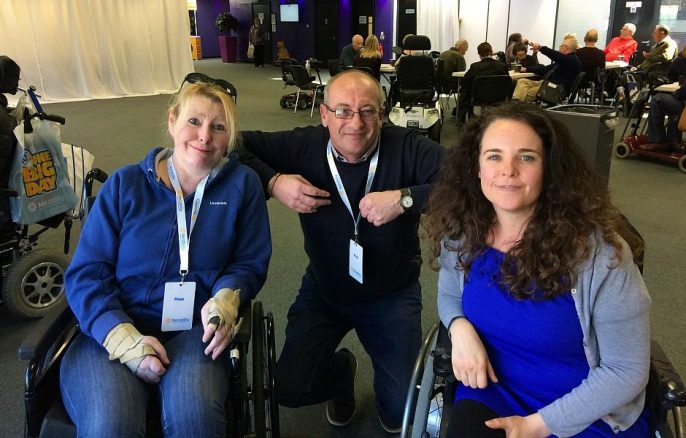 Our Day at the Motability Big Event in Manchester
