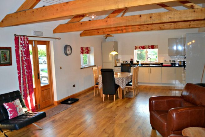Accessible Kitchen in The Stables Holiday Cottage