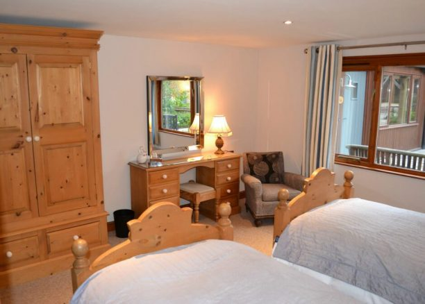 Oak Bedroom Furniture in Elm Cottage