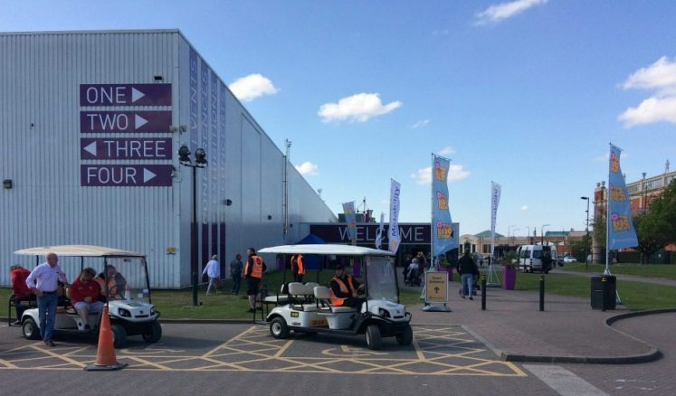 Disabled Car parking at Motability Event