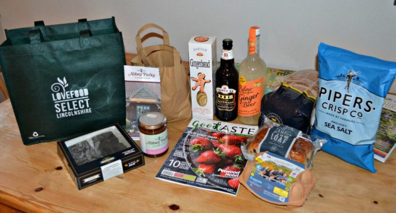 Complimentary Food and Drinks Hamper at Elms Farm Cottages