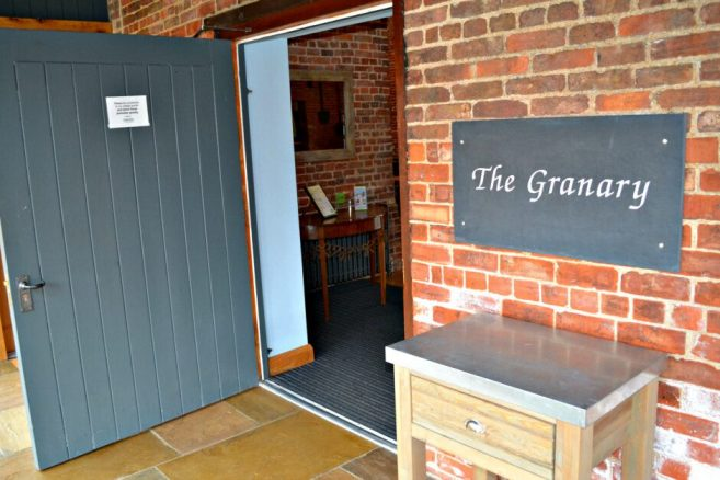 Widened Doors at The Granary Wedding Venue