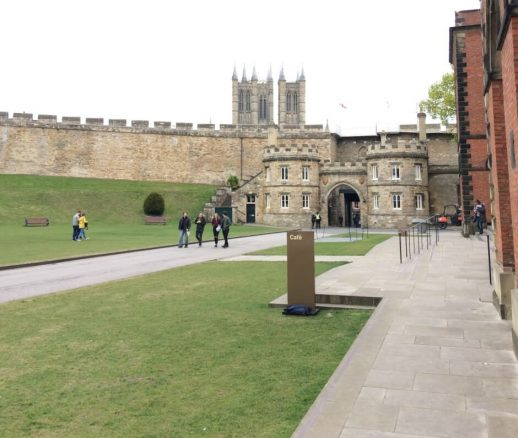 Disabled Access in Lincoln Castle