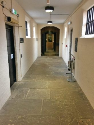 Accessible Walkway Inside Lincoln Castle Jail