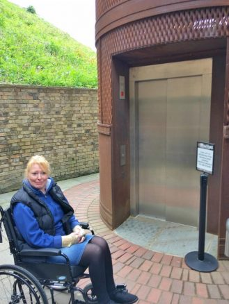 Access Lift to Lincoln Castle Walls
