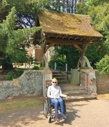 Access to St Mary Magdalene Church in Sandringham