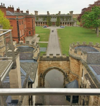 View Over Lincoln Castle East Gate
