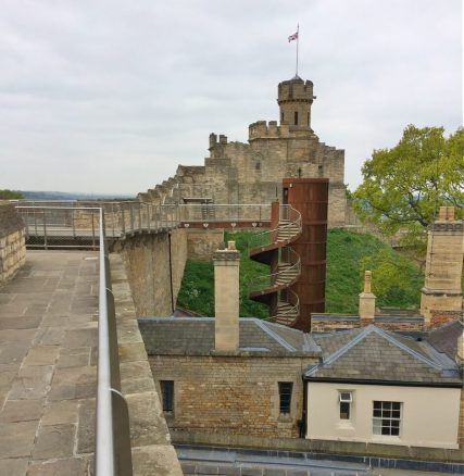 View of Tower at Lincoln Castle