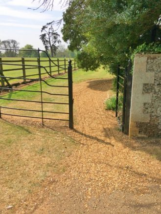 No So Accessible Path on Sandringham Estate