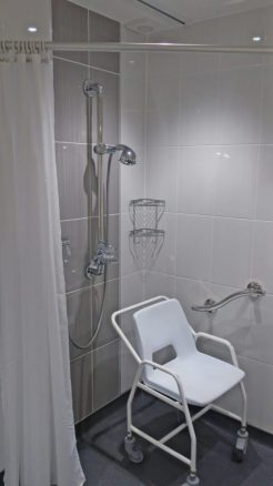 Disabled Friendly Wet Room in Holiday Cottage