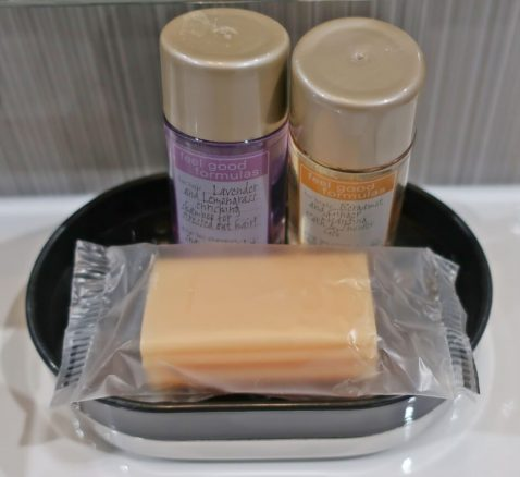 Complimentary Toiletries at Gwel an Mor