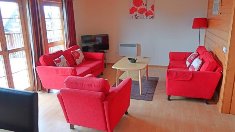 Living Room in Holiday Lodge