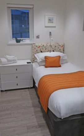 Single Bedroom in Holiday Lodge