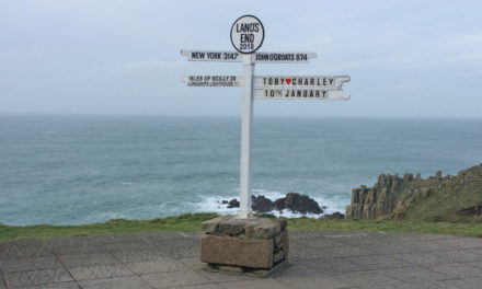 A Day Out at Land's End in Cornwall
