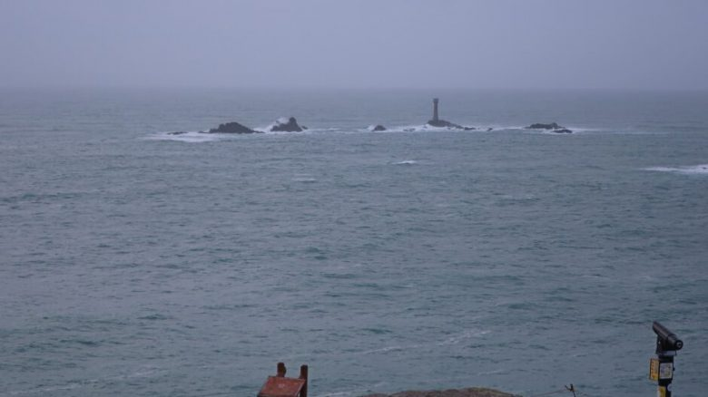 A Mist Day at Land's End in Cornwall
