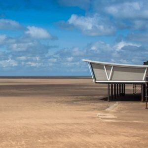Beach at Southport near Liverpool