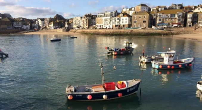St Ives in Cornwall