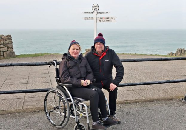 The Bimblers at the Land's End Sign Post