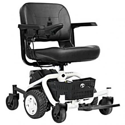 White Powerchair
