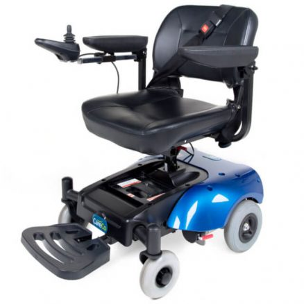 Blue Powerchair