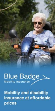 Advert for Mobility Insurance
